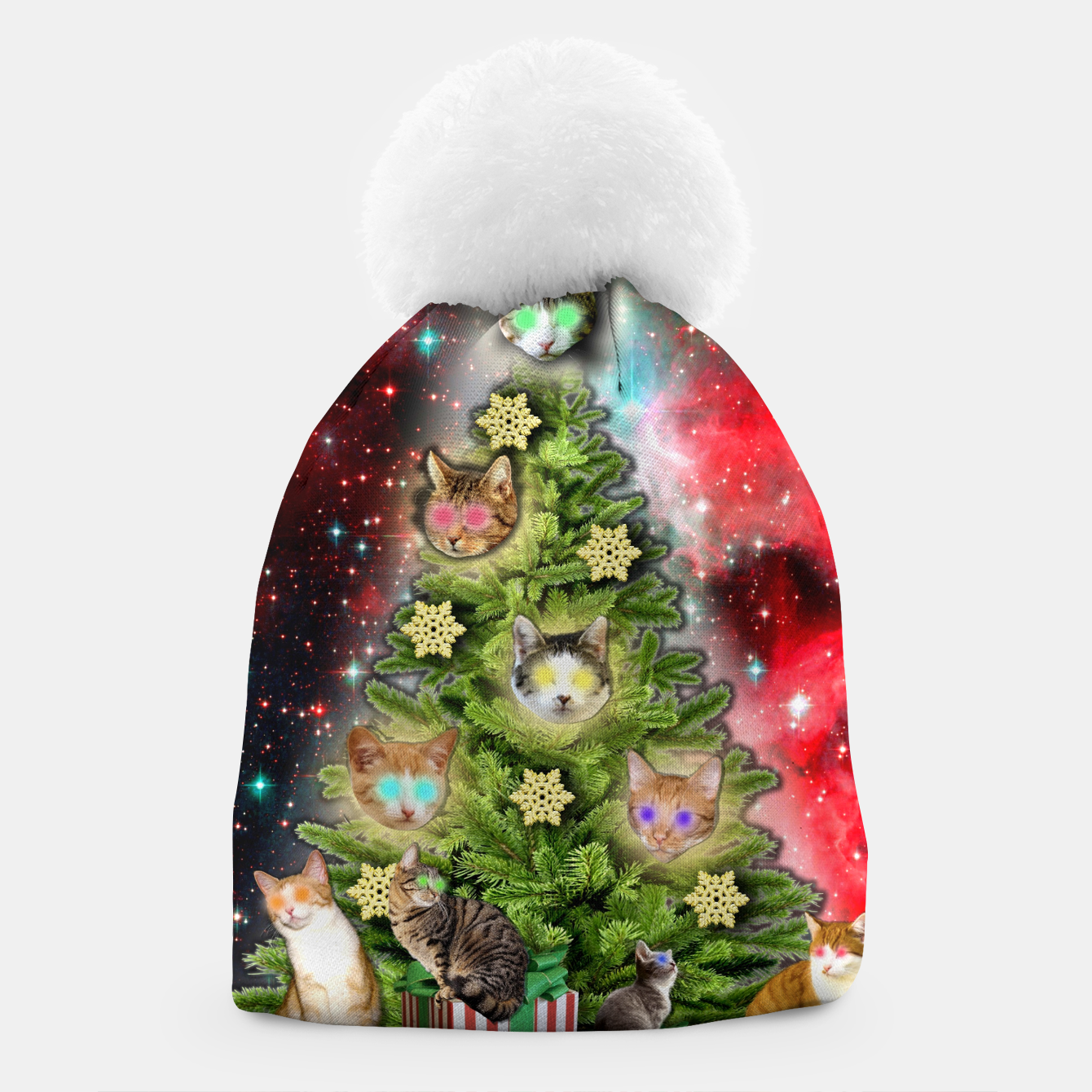 Image of MERRY CHRISTMAS CATS Gorro - Live Heroes