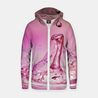 drip the drop #1 Zip up hoodie thumbnail image