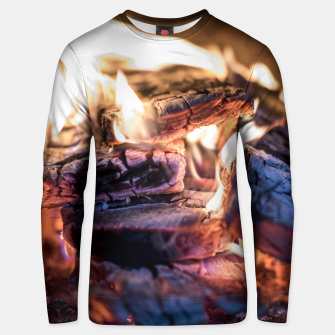 Thumbnail image of domestic fire #1 Unisex sweater, Live Heroes