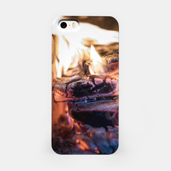 Thumbnail image of domestic fire #1 iPhone Case, Live Heroes