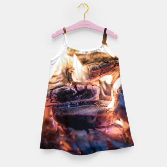 Thumbnail image of domestic fire #1 Girl's dress, Live Heroes