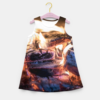 Thumbnail image of domestic fire #1 Girl's summer dress, Live Heroes