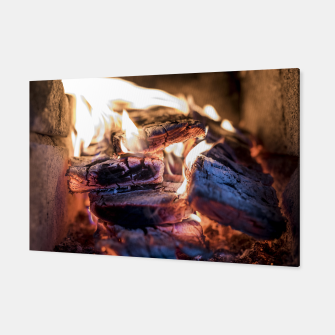 Thumbnail image of domestic fire #1 Canvas, Live Heroes