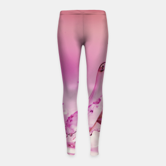 drip the drop #1 Girl's leggings thumbnail image