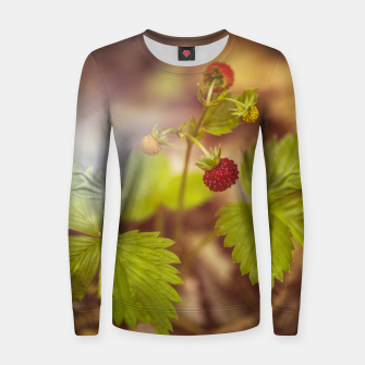 Thumbnail image of wild strawberry #1 Women sweater, Live Heroes