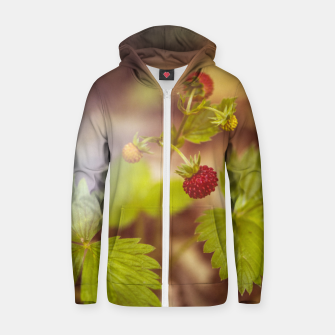 Thumbnail image of wild strawberry #1 Zip up hoodie, Live Heroes