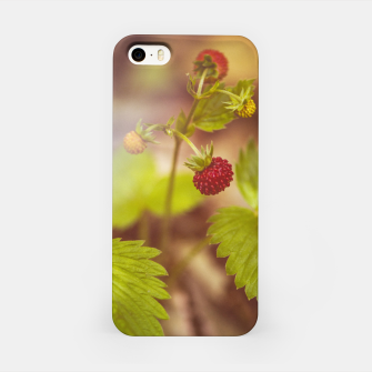 Thumbnail image of wild strawberry #1 iPhone Case, Live Heroes