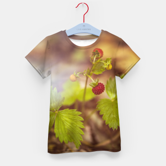 Thumbnail image of wild strawberry #1 Kid's t-shirt, Live Heroes