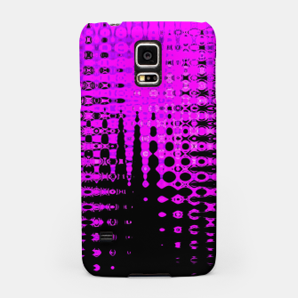 Miniatur Modern abstract pattern in purple Samsung Case, Live Heroes