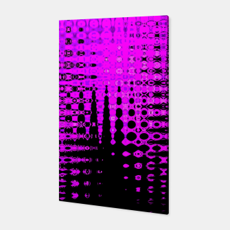 Miniatur Modern abstract pattern in purple Canvas, Live Heroes