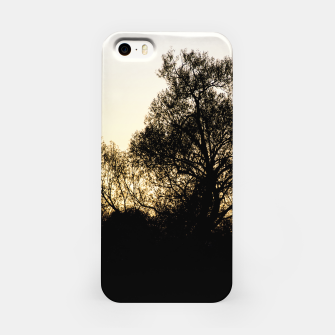 Thumbnail image of silhouette #1 iPhone Case, Live Heroes