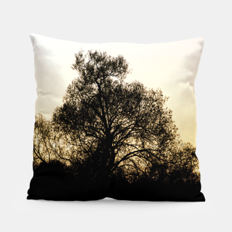 Thumbnail image of silhouette #1 Pillow, Live Heroes