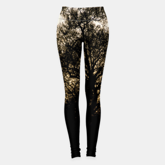 Thumbnail image of silhouette #1 Leggings, Live Heroes