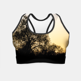 Thumbnail image of silhouette #1 Crop Top, Live Heroes