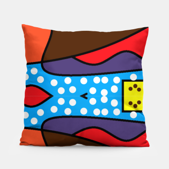 Thumbnail image of Apple-6 Pillow, Live Heroes