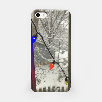 Home For The Holidays iPhone Case imagen en miniatura