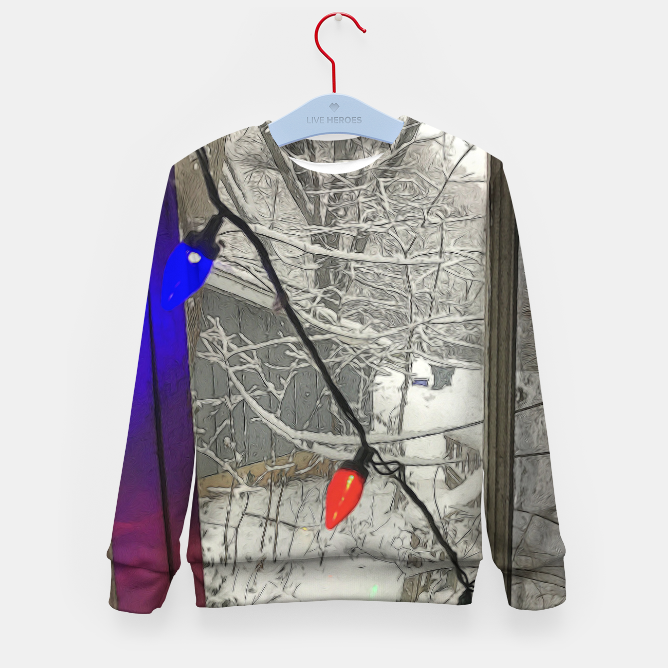 Imagen de Home For The Holidays Kid's sweater - Live Heroes