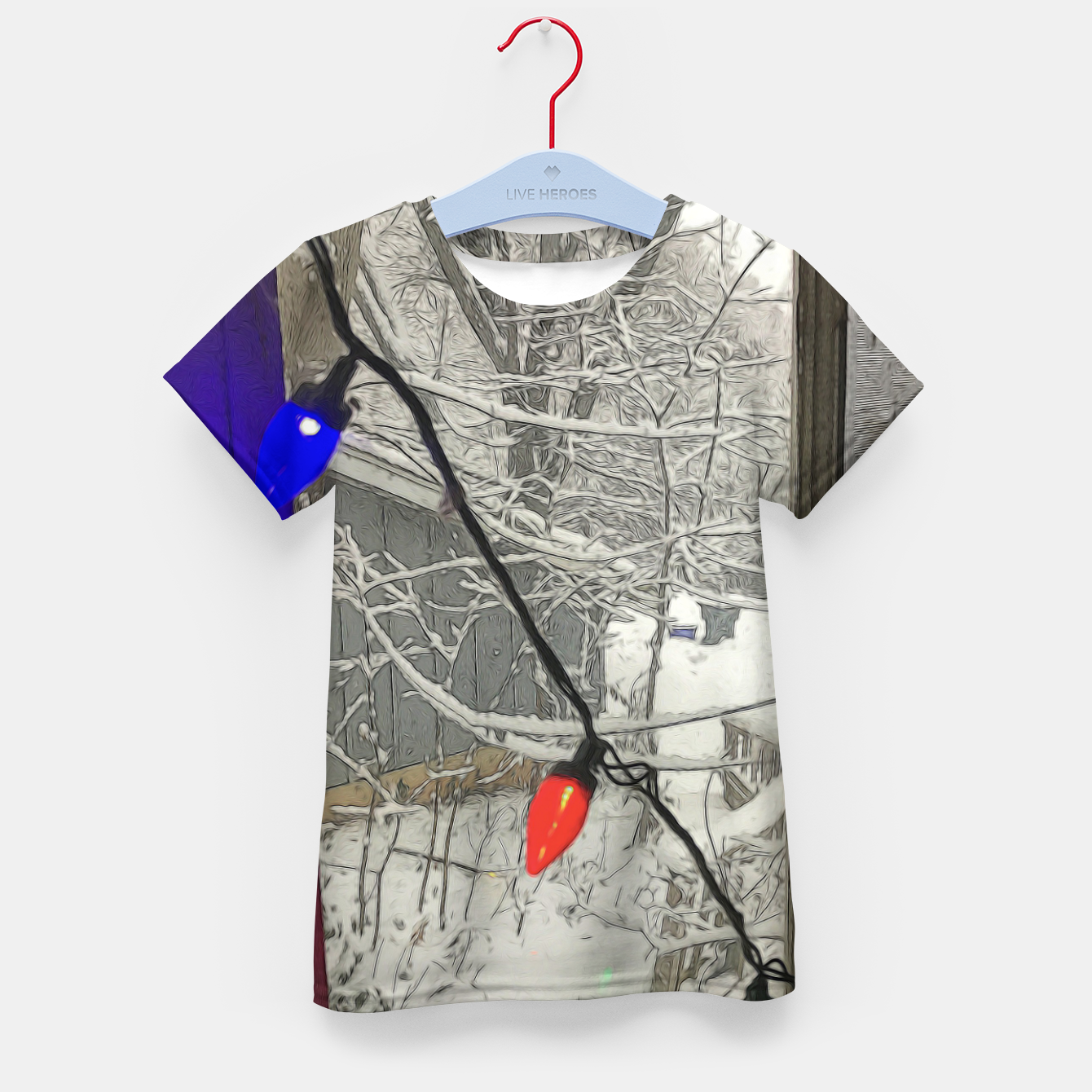 Imagen de Home For The Holidays Kid's t-shirt - Live Heroes