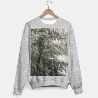 Thumbnail image of Snow Covered Pine Tree Sweater regular, Live Heroes