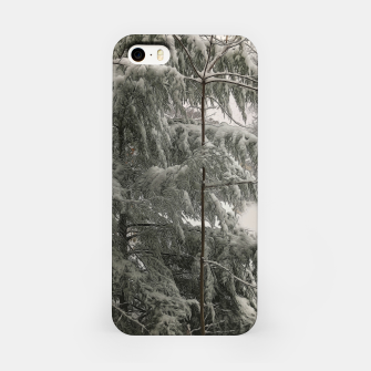 Thumbnail image of Snow Covered Pine Tree iPhone Case, Live Heroes