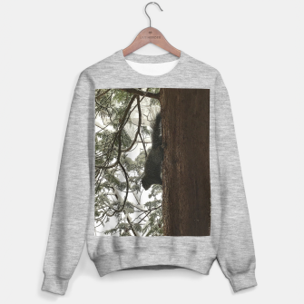Thumbnail image of Squirrel on a Snowy Tree Sweater regular, Live Heroes