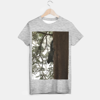 Thumbnail image of Squirrel on a Snowy Tree T-shirt regular, Live Heroes