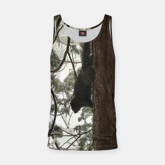 Thumbnail image of Squirrel on a Snowy Tree Tank Top, Live Heroes