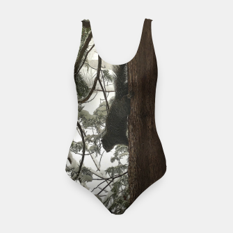 Thumbnail image of Squirrel on a Snowy Tree Swimsuit, Live Heroes