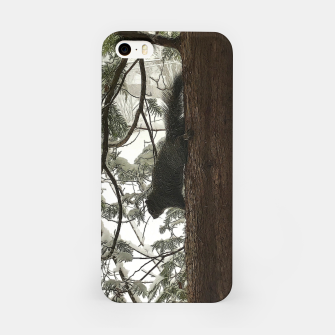 Thumbnail image of Squirrel on a Snowy Tree iPhone Case, Live Heroes