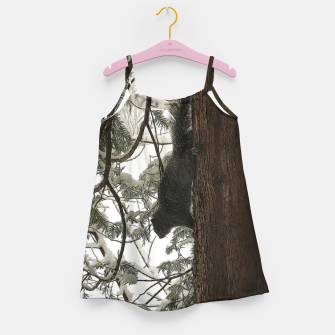 Thumbnail image of Squirrel on a Snowy Tree Girl's dress, Live Heroes