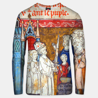 Thumbnail image of Medieval Arthur Legend Unisex sweater, Live Heroes