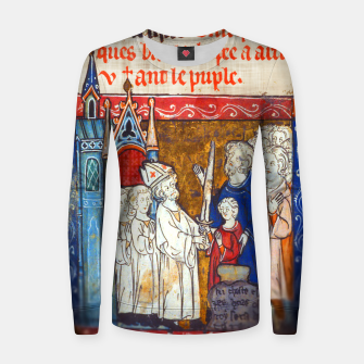Thumbnail image of Medieval Arthur Legend Women sweater, Live Heroes