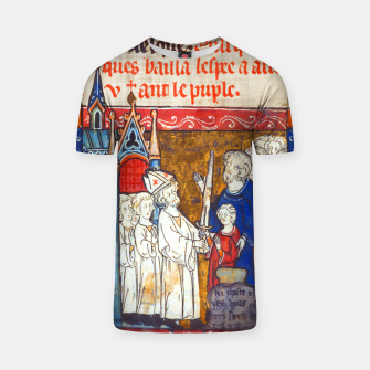 Thumbnail image of Medieval Arthur Legend T-shirt, Live Heroes