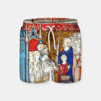 Thumbnail image of Medieval Arthur Legend Swim Shorts, Live Heroes