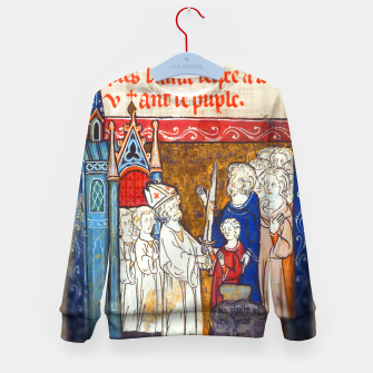 Thumbnail image of Medieval Arthur Legend Kid's sweater, Live Heroes