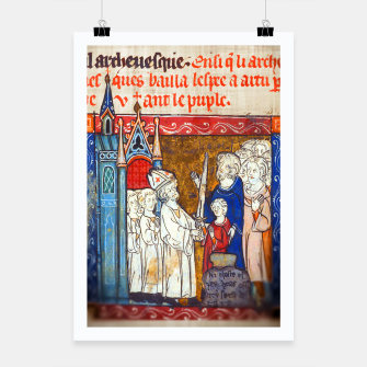 Thumbnail image of Medieval Arthur Legend Poster, Live Heroes