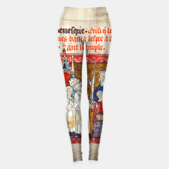 Thumbnail image of Medieval Arthur Legend Leggings, Live Heroes