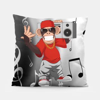 Thumbnail image of Music Monkey Pillow, Live Heroes