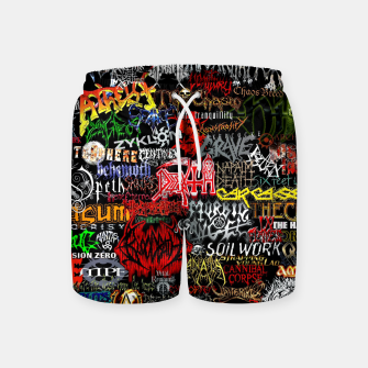 Miniaturka Music is my life Swim Shorts, Live Heroes