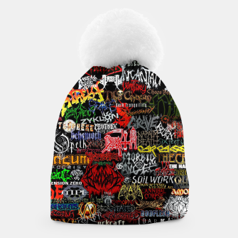 Miniaturka Music is my life Beanie, Live Heroes