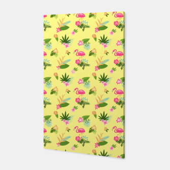 Thumbnail image of Yellow Flamingo Canvas, Live Heroes