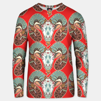 Thumbnail image of Aries Sign Unisex sweater, Live Heroes