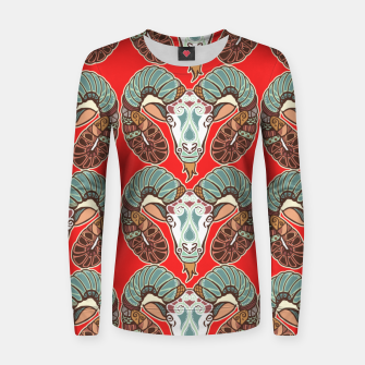 Thumbnail image of Aries Sign Women sweater, Live Heroes