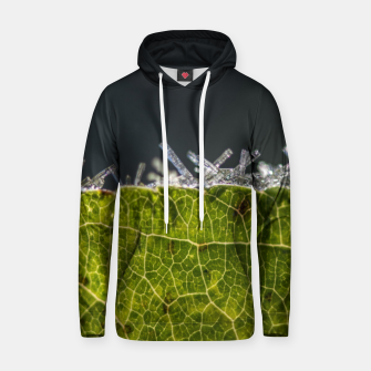 Thumbnail image of frozen leaf #1 Hoodie, Live Heroes