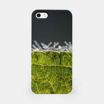 Thumbnail image of frozen leaf #1 iPhone Case, Live Heroes