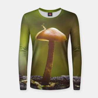 Thumbnail image of mushroom #1 Women sweater, Live Heroes