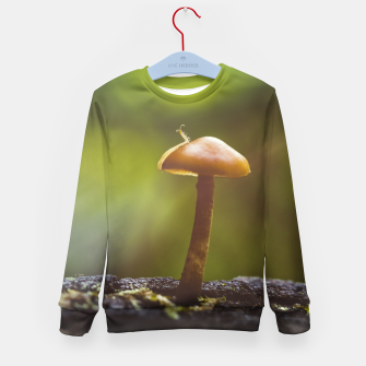 Thumbnail image of mushroom #1 Kid's sweater, Live Heroes
