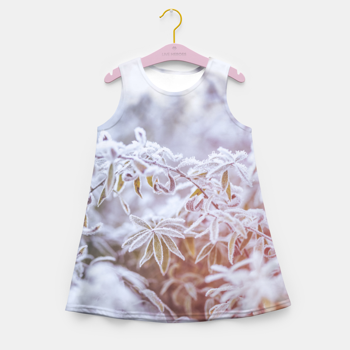 Image of cold #1 Girl's summer dress - Live Heroes