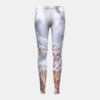 Thumbnail image of cold #1 Girl's leggings, Live Heroes