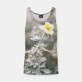 Thumbnail image of a frozen flower #1 Tank Top, Live Heroes
